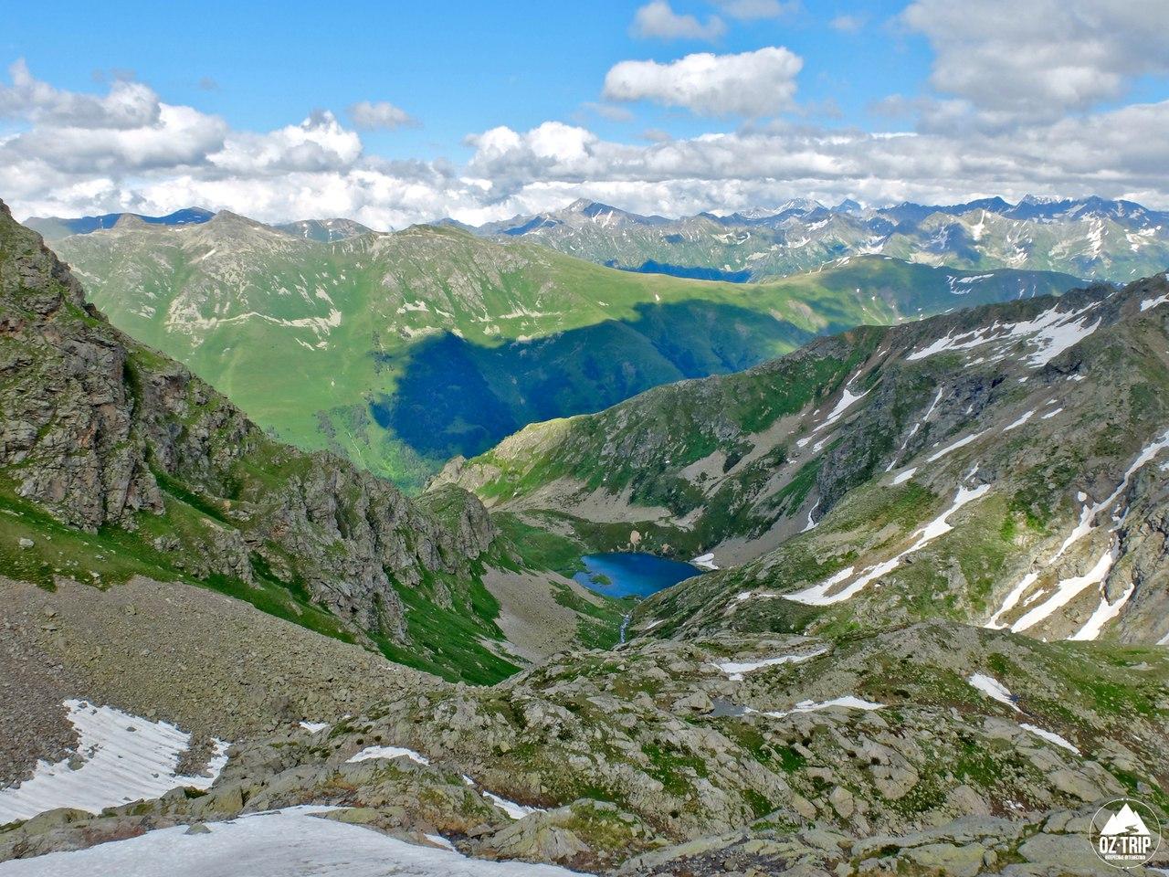 Летние походы в горы