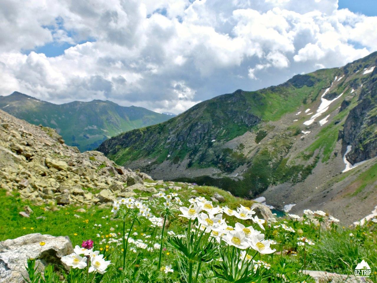 Поход на Софийские озера Архыза