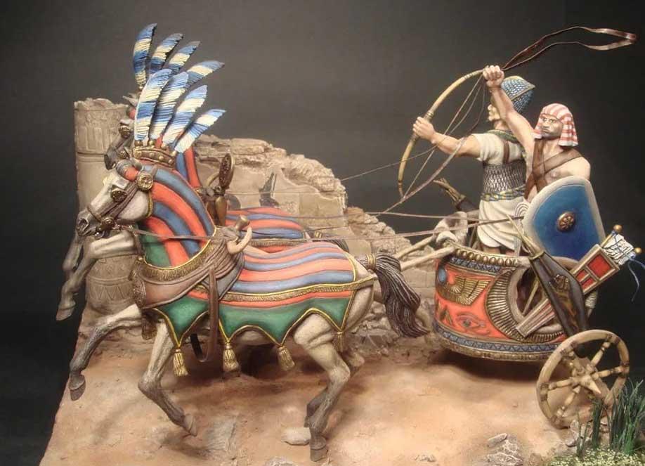 Боевая колесница фараонов