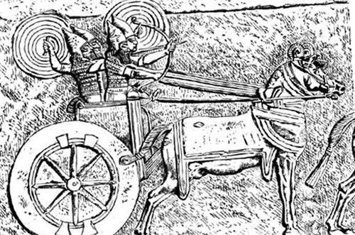 Колесница ассирийцев