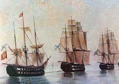 Военная мощь русского флота