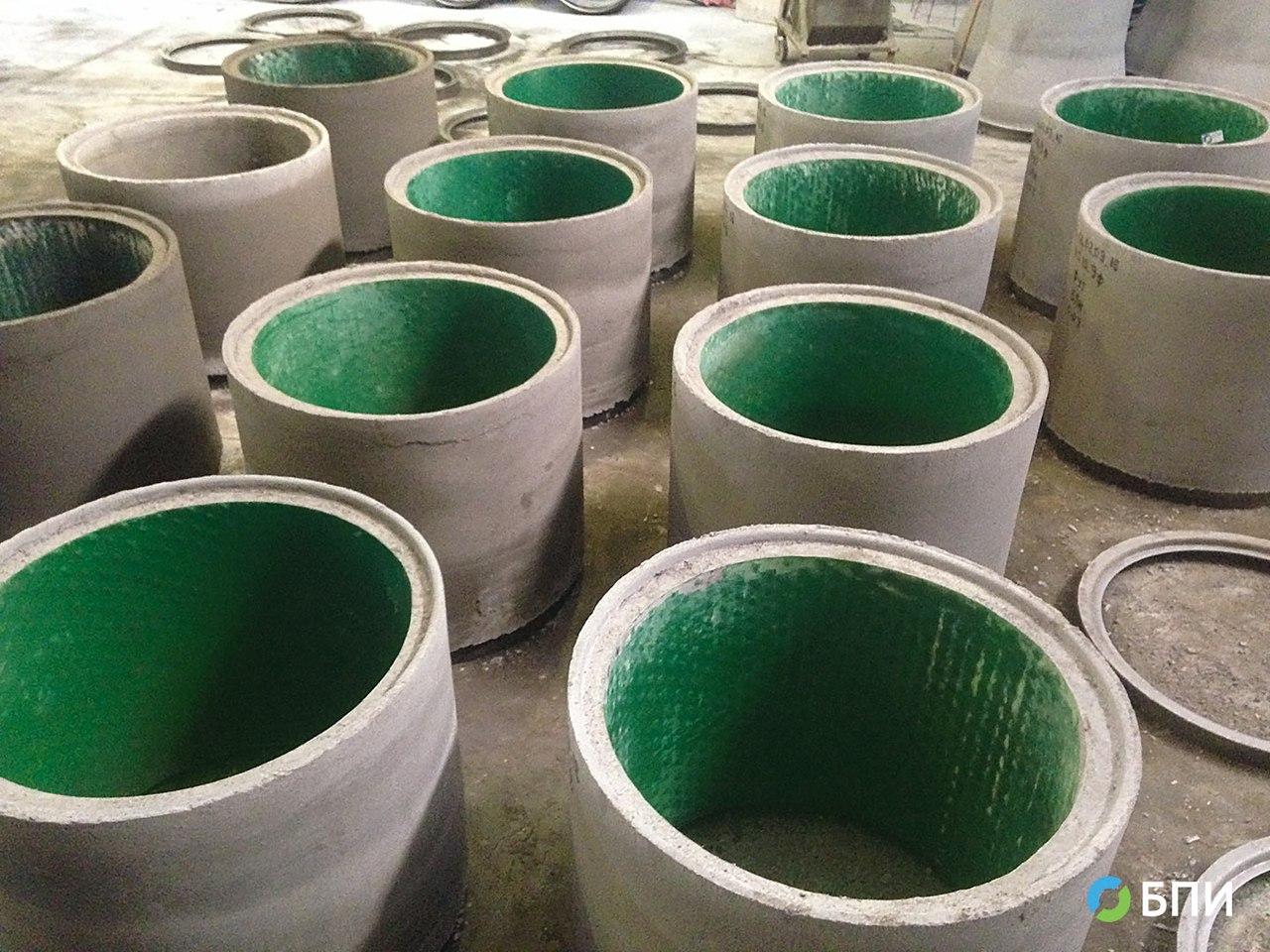 Производство футерованных колец жб