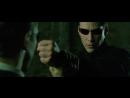 Боевая сцена # 1 - Матрица׃ Перезагрузка ⁄ 2003 (Нео против трех агентов)
