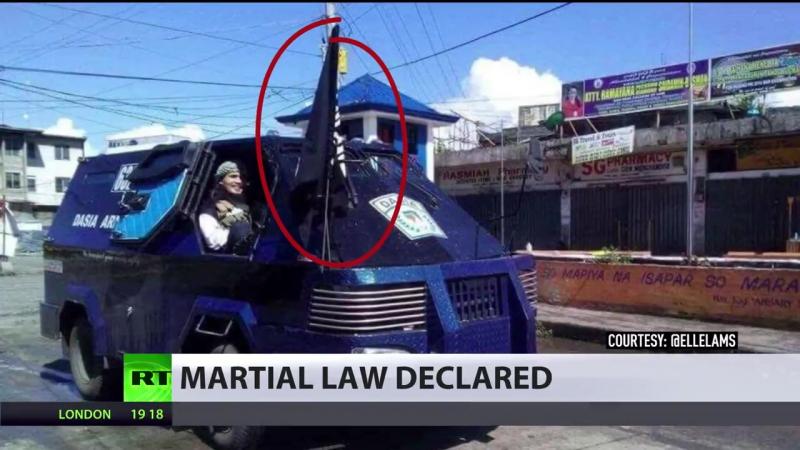 ISIS crisis in Philippines- Duterte declares martial law in Mindanao