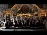 Завершение Херувимской песни в исполнении Северного русского народного хора в Ильинском кафедральном соборе