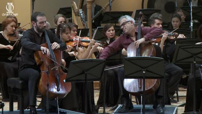 Соллима Antidotum Tarantulae XXI – концерт для двух виолончелей с оркестром Джованни Соллима, Борис Андрианов