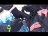 Видео задержания одного из организаторов теракта в метро Петербурга