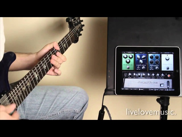 IRig Guitar Interface for iPad/ iPhone Amplitube iPad Review