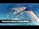 Aaron Blaise Live Stream - Let's Paint a Sea Creature! (3/9/17)