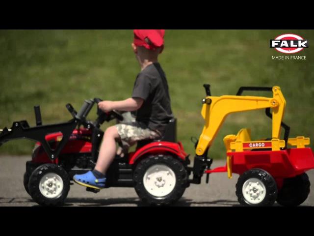 Falk 2051CN / 2052CN / 2055CN Šliapací traktor Ranch Trac
