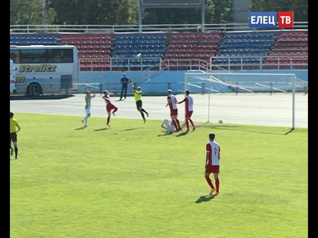 ФК Елец продолжил победную серию в матче с Локомотивом из Лисок