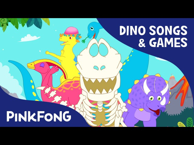 T Rex Pachycephalosaurus Triceratops SPECIAL Dinosaur Songs Games PINKFONG Songs for Children