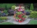 Креативные цветочные вазоны для дачи своими руками