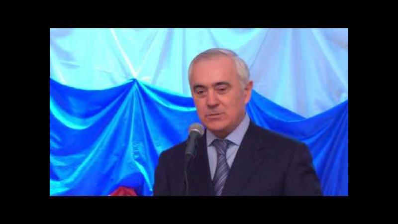 Ингушетия.Выступление перед выпускниками Орловской области М.М.Зязикова