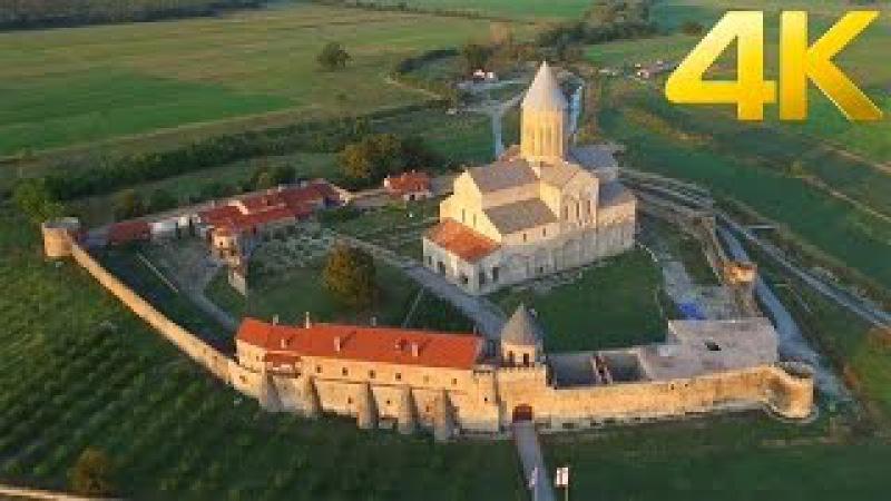 Alaverdy Monastery ალავერდის მონასტერი Монастырь Алаверди - 4K aerial video DJI Inspire 1