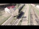 Парад паровозов Георгий Свиридов Время вперед Best Aerial Video HD 4K