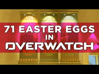 OVERWATCH: 71 Easter Eggs & Hidden References!