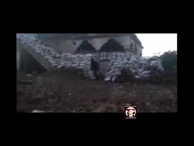 Syria, Quneitra Syrian Arab Army Quneitra Hawks after capturing a Point near Baath City HD 720p