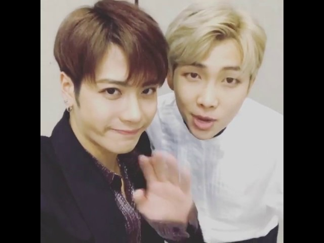 [161114] GOT7 JACKSON INSTAGRAM VIDEO WITH RM