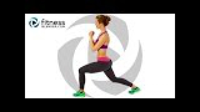 Fat Burning HIIT Workout - At Home HIIT Cardio with Warm Up (with Low Impact Modifications)