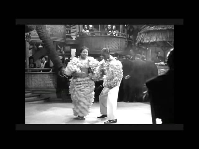 Rene Estela en el filme norteamericano Another thin man (1939)