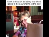 Она узнала, что станет бабушкой
