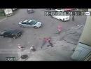 Пьяные хулиганы разбили авто и устроили драку с полицейскими в Голицыно