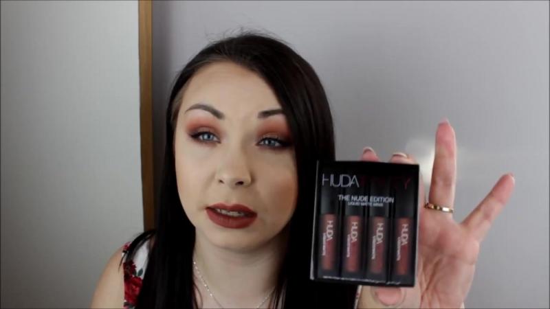 Обзор №5 Матовых Помад от Huda Beauty _ HUDA BEAUTY Liquid Lipstick Minis menow.dp.ua
