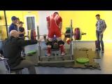 Алексей Бураков 2 попытка 150 кг (жим)