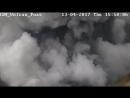 Видео извержения вулкана Поас 13 апреля в 15:48, зафиксировала камера видеонаблюдения RSN. Dr. Maurice M. Mora
