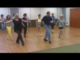 CUMBIA SEMANA LINE DANCE (Original Video with Choreographer Ira Weisburd)
