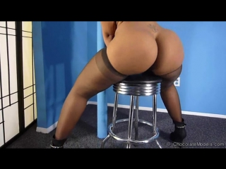 Mariela - pink bikini (cm) - ebony big ass booty butts tits boobs bbw pawg curvy milf stockings