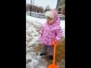 Выпал снег-все за лопатки Мелкая туса