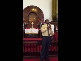 Me Singing The First Chinese Song That I Learned: Jesus Christ is Lord