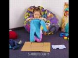 Как приучить детей складывать вещи