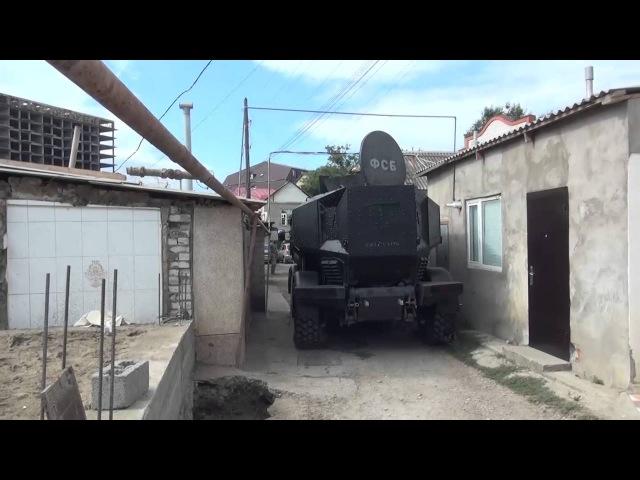 Спецоперация УФСБ и МВД РД в Махачкале, РД 07.09.2016