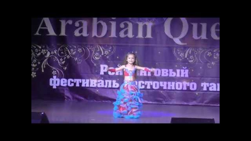 Ободянская Настя Минута славы супербэби, дебют Фестиваль Arabian Queen