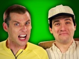 Epic Rap Battles of History -Behind the Scenes - Babe Ruth vs Lance Armstong