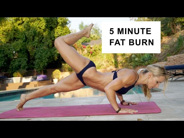 5 Minute Fat Burning Bikini Workout 89