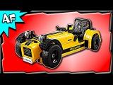 Lego Ideas CATERHAM SEVEN 620R 21307 Stop Motion Build Review