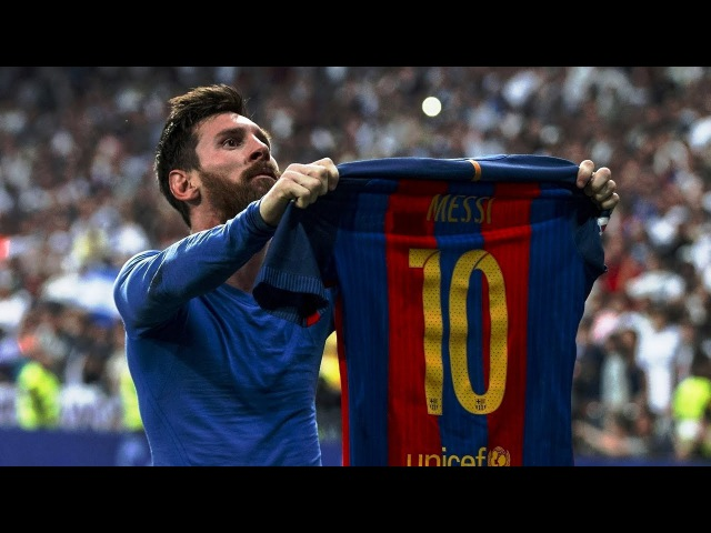 Leo Messi Goal vs Real Madrid 2017   RAY HUDSON AMAZING COMMENTARY   720p 60fps - By Pirelli7