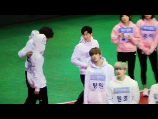 170116 BTS so cute funny (Chanyeol Jimin interaction) @ ISAC 2017