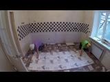 Частный дом - ремонт день #97 Обои в кухне