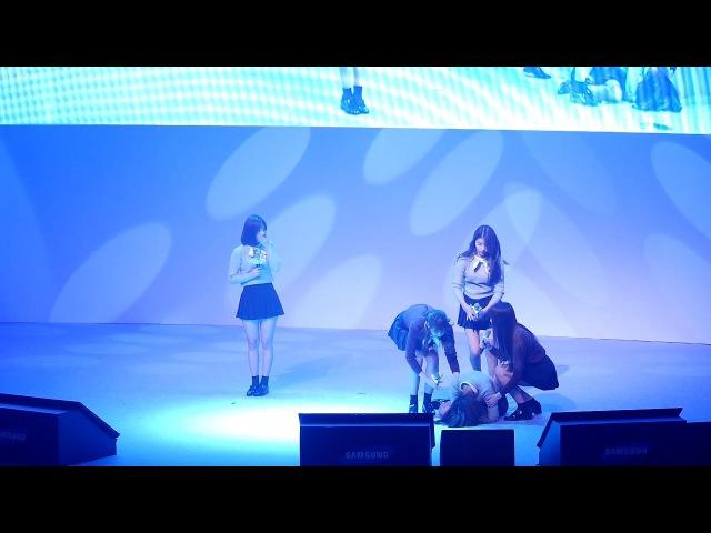 161103 여자친구 (GFRIEND) 머메이드'(Mermaid)공연중 신비 실신 [전체] 직캠 Fancam (청춘문답라이브