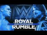 WWE Royal Rumble 2017 - AJ Styles Vs John Cena - Custom Promo