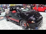 2017 Fiat 500 Abarth - Exterior and Interior Walkaround - 2016 LA Auto Show