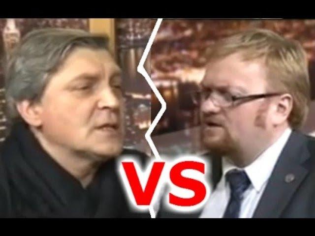 Дебаты: Атеист Александр Невзоров против православного Виталия Милонова (2012)