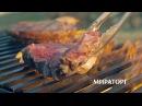 Пожарь на углях стейки Black Angus Мираторг Полный ассортимент в магазинах Мираторг