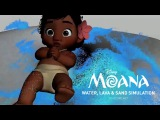 MOANA (2016) - The Making of | Water, Lava, and Sand Simulation