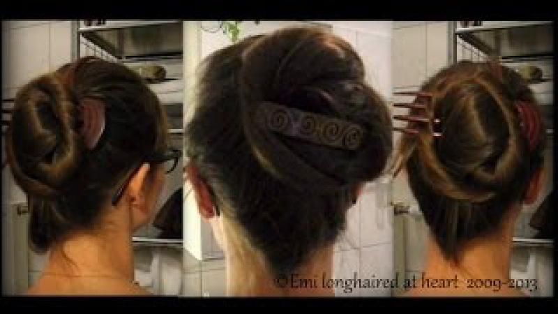 ✛ Modern Psyche Knot 1910 hair do ღ